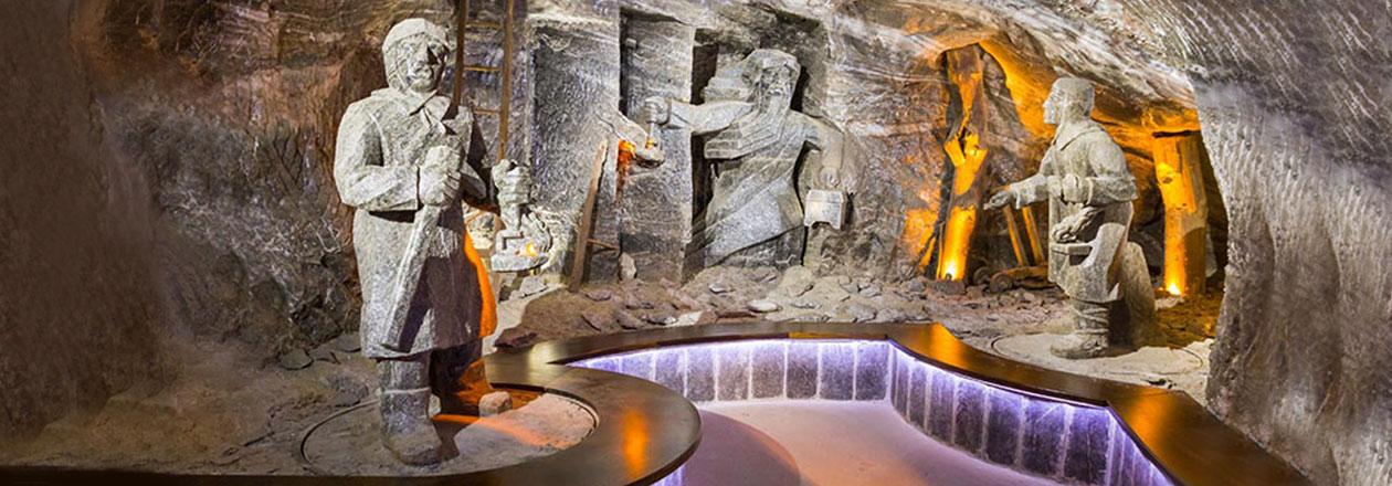 اقامتگاه زیبای ویلیچکا و غار نمک اوکراین