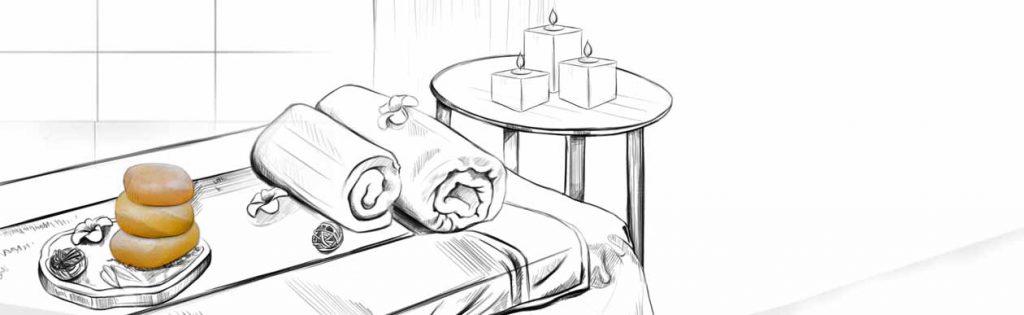 ماساژ سنگ نمک یک تجربه رؤیایی
