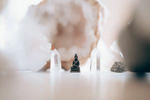 یوگا و سنگ نمک