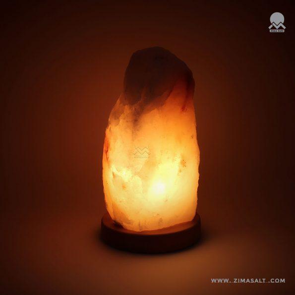 چراغ سنگ نمک طرح صخره