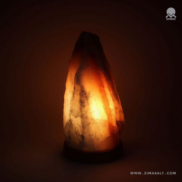 آباژور سنگ نمک طرح صخره کد R1010