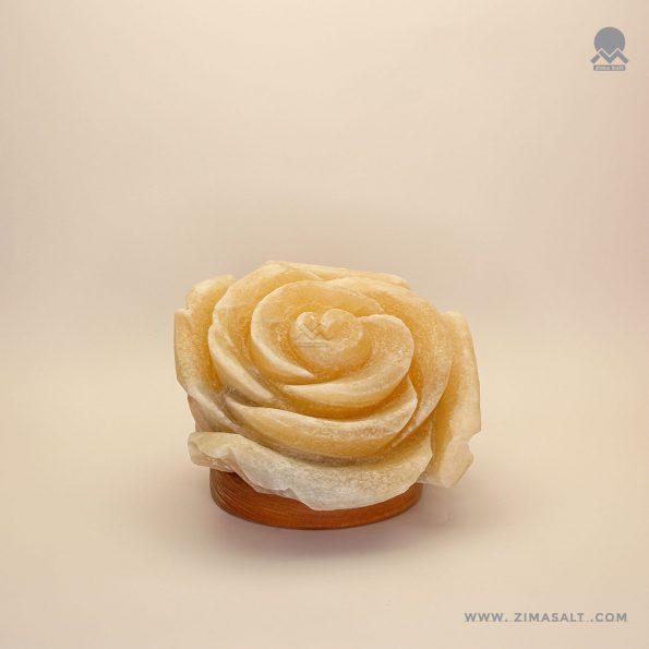 اباژور کوچک سنگ نمک طرح گل